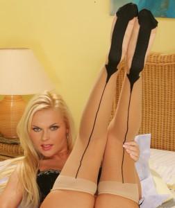Experienced Mistress Olivia stockings fetish 1-800-601-7259