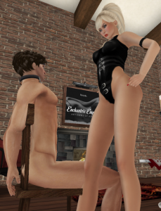 Femdom in Second Life CFNM
